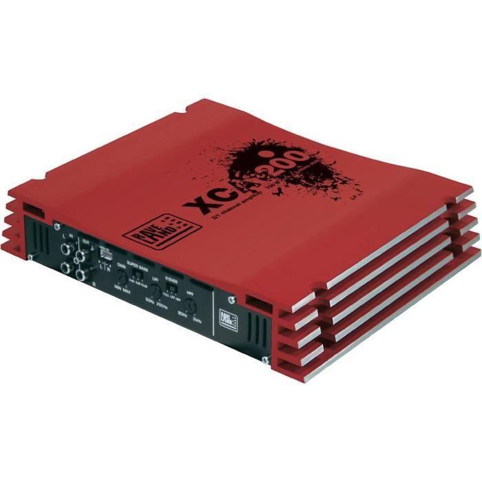 Amplificateur auto 2 canaux Raveland XCA-200