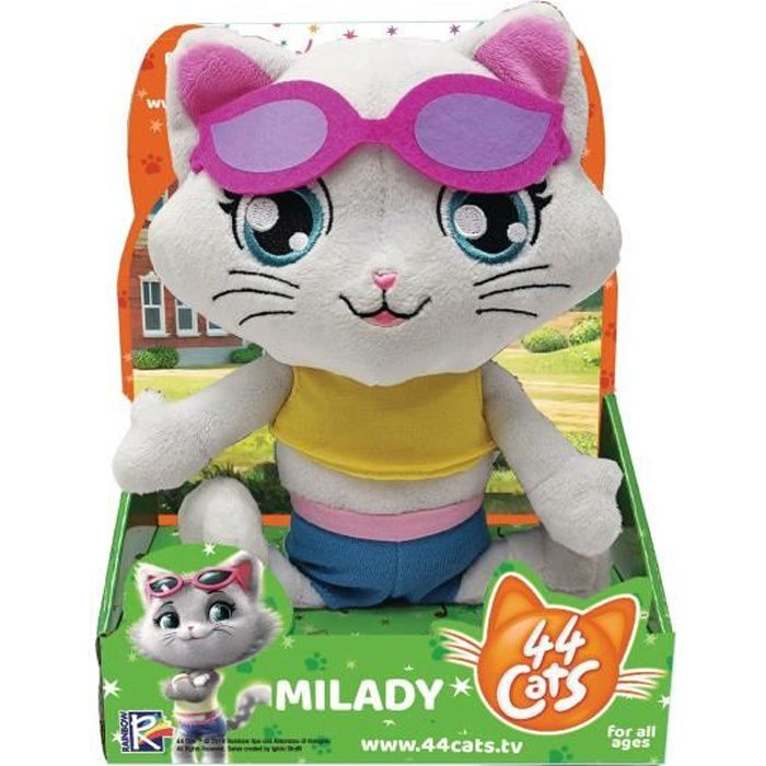 Peluche Musicale Milady 44CATS - SMOBY