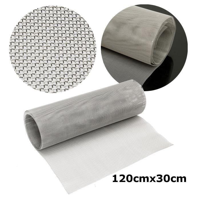 120x30cm Rouleau 25 Micron Mesh 316 Acier inox filtre Filtration Filter Sheet