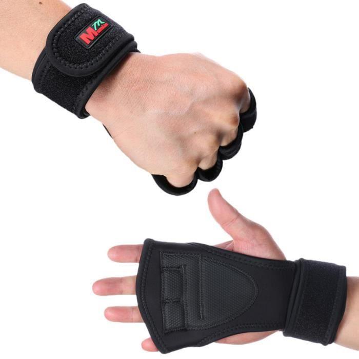 1 paire Fitness professionnel entraînement sportif unisexe Gym musculation gants femmes hommes BARRE - HALTERE - POIDS