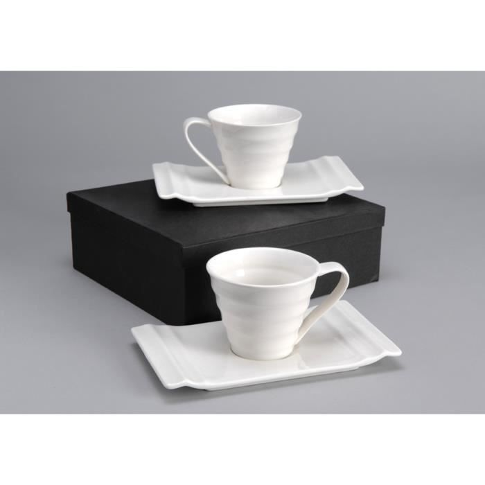 coffret 2 tasses th en porcelaine amadeus achat vente service th caf soldes cdiscount. Black Bedroom Furniture Sets. Home Design Ideas