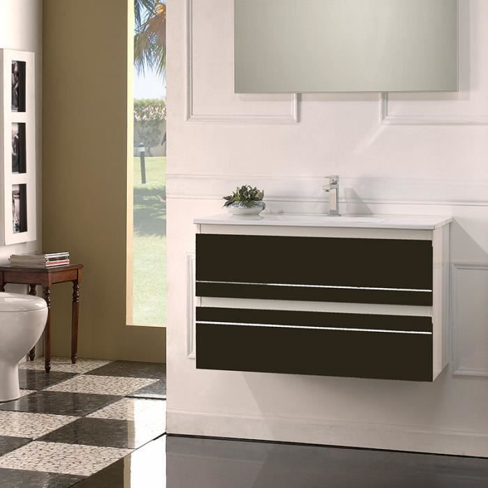 meuble de salle de bain simple vasque 80 cm ritz. Black Bedroom Furniture Sets. Home Design Ideas