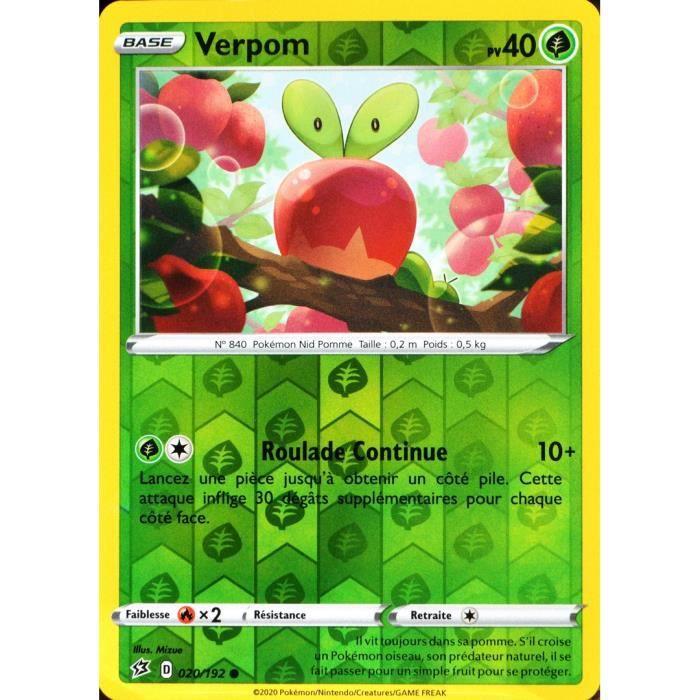 Carte Pokemon DISPAREPTIL 090//192 REVERSE Epée et Bouclier 2 EB02 FR NEUF