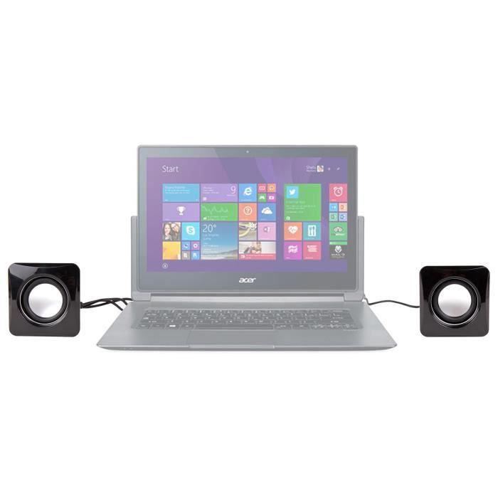 ENCEINTES ORDINATEUR Mini enceintes pour PC Acer Aspire E3-112-C9WF