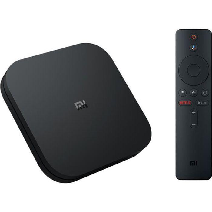 BOX MULTIMEDIA XIAOMI Mi TV Box S 4K ultra HD - 2Go + 8Go