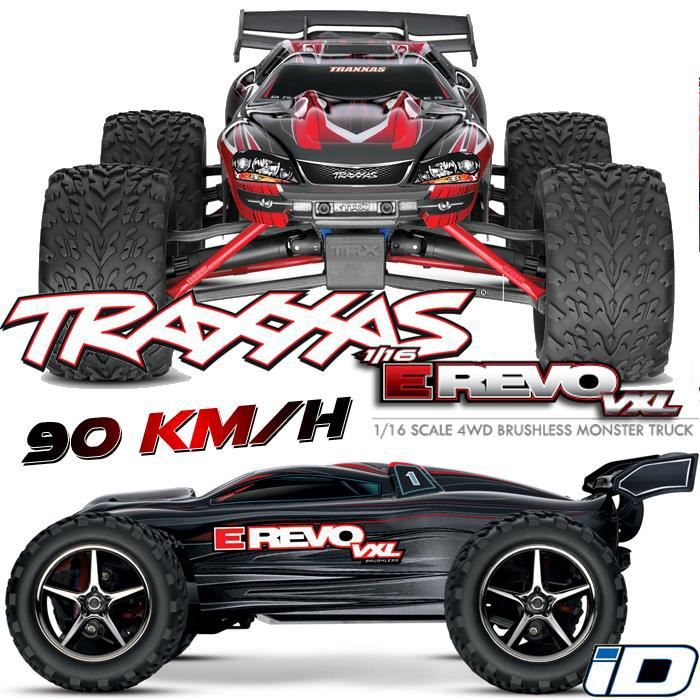 voiture radiocommand e truggy e revo 4x4 1 16 vxl brushless tq 2 4ghz 1 16 me lectrique. Black Bedroom Furniture Sets. Home Design Ideas