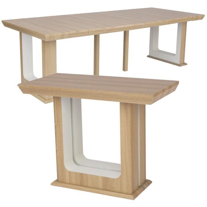 Clair 250cm Extensible Table Console Houston Chêne HDE29I