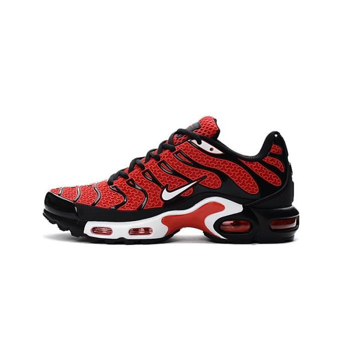 2017 NIKE AIR MAX TN BASKETS CHAUSSURES DE SPORT ROUGE ROUGE ...