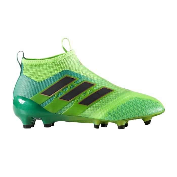 the latest 9f0c9 8c32f Chaussures football adidas ACE 17+ Purecontrol FG Vert Junior