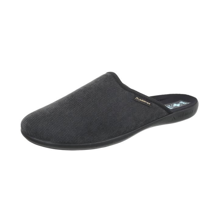 Hommes chaussures chaussons chaussons gris 40 ZTAPbZZ