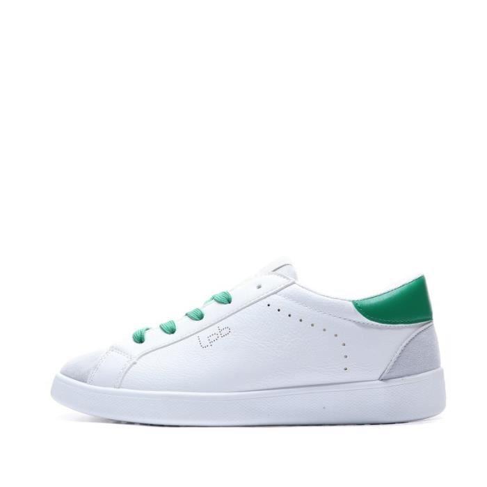 basket blanche et verte