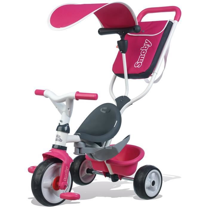 smoby tricycle baby balade rose achat vente tricycle. Black Bedroom Furniture Sets. Home Design Ideas