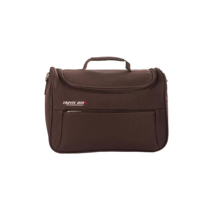 Travel One Vanity Case Canaria Choco Achat Vente