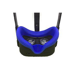 CASQUE RÉALITÉ VIRTUELLE Bleu Protecteur oculaire en silicone anti-transpir