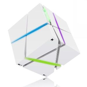 ENCEINTE NOMADE Style Portable Enceinte blanc Electronique 3.5mm J