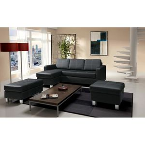 canape petit angle achat vente canape petit angle pas cher cdiscount. Black Bedroom Furniture Sets. Home Design Ideas