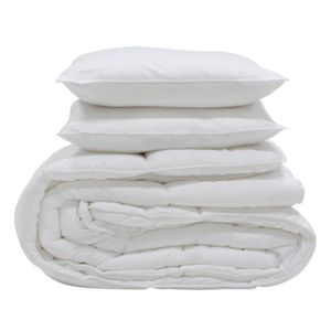 COUETTE  Couette 240x260 400GM .+ 2 oreillers 600gr