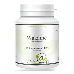 COMPLÉMENT MINCEUR Wakamé 200 gélules (coupe faim)
