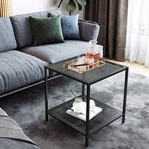 TABLE D'APPOINT USINEDISTRIB Table d'appoint en verre, table de bo