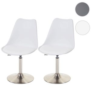 CHAISE 2x chaise de séjour/salle à manger Malmö T501, fau