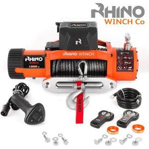 TREUIL AUTO Rhino Treuil Électriques  6125 kg - 12v - Corde Sy