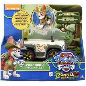 FIGURINE - PERSONNAGE Pat Patrouille : Tracker + Jeep / 4x4 - Figurine E