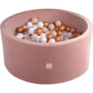 PISCINE À BALLES MeowBaby 90X40cm/250 Balles ∅ 7Cm Piscine À Balles