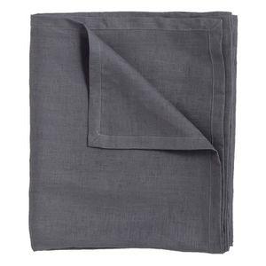Textile Outdoor Nappe Jardin Nappe Garden 130x160 Gris Tache Résistant