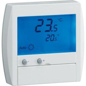 THERMOSTAT D'AMBIANCE 25120 Thermostat digital semi-encastré avec FP