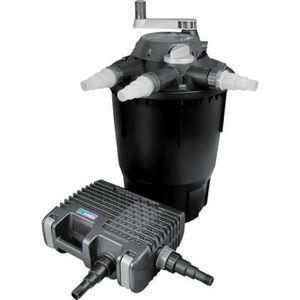 BASSIN D'EXTÉRIEUR Systeme de filtration complet pour grand bassin av