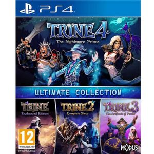JEU PS4 Jeu PS4 Just For Games Trine 4 The Ultimate Collec