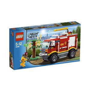 ASSEMBLAGE CONSTRUCTION Lego Fire City - Le Camion De Pompier Tout Terrain