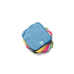 5/% /élasthanne R/éutilisable et lavable Fabriqu/é en Europe Petit Lulu Couche ajust/ée en bambou pour nouveau-n/é avec boutons-pression Mati/ère ext/érieure 95/% coton