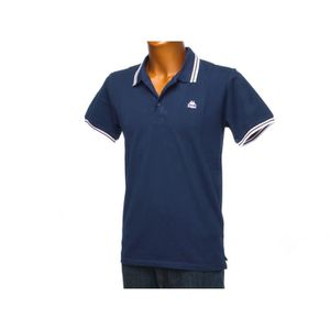 POLO Polo manches courtes May navy rose ...