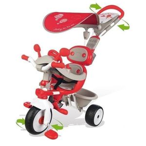 TRICYCLE SMOBY Tricycle Baby Driver Confort Evolutif Rouge