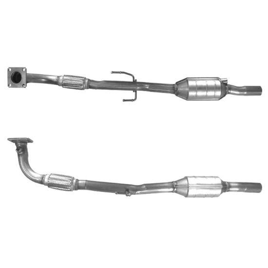 Catalyseur Y-pipe avec tuyau flexible pour VW Lupo Polo 6N 1.4 16V neuf