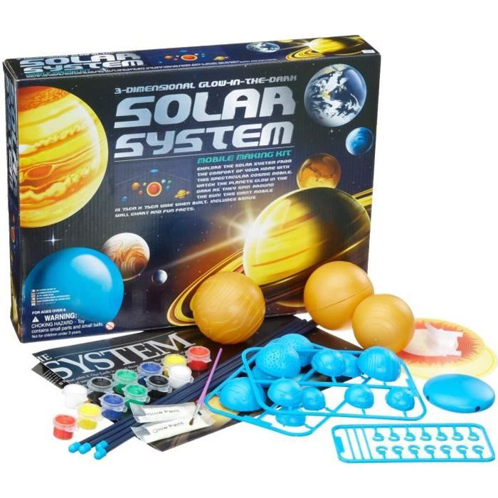 solar system mobile making kit achat vente exp rience scientifique cdiscount. Black Bedroom Furniture Sets. Home Design Ideas