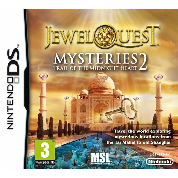JEWEL QUEST MYSTERIES 2 TRAIL OF THE MIDNIGHT