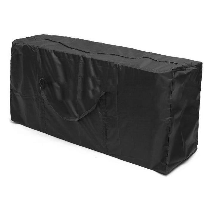 Sac de rangement de meubles pliable extérieur Sac de rangement pour arbre de Noël Sac de tri divers Conteneur-122 * 39 * 55cm