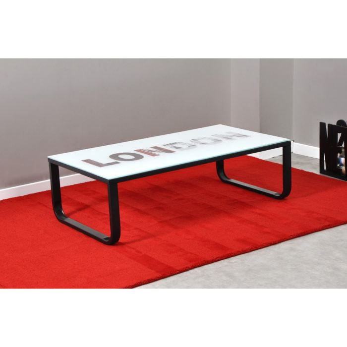 Table basse verre trempé OXFORD Mooviin First