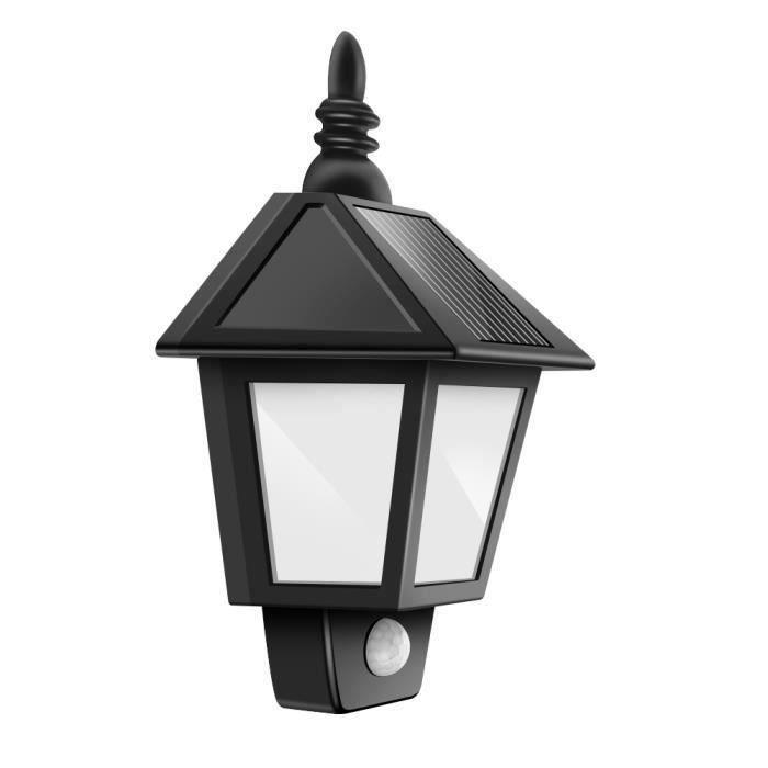 ME2283 solaire Mouvement étanche lumière LED Lampe murale Nuit de lumière d'extérieur à énergie solaire PIR détecteur de mouvement A