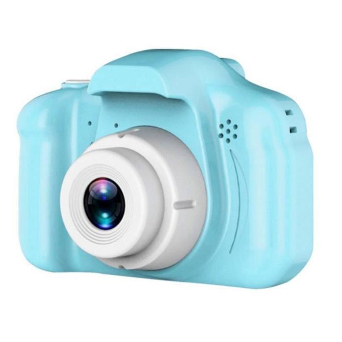Appareil photo enfant,Appareil photo numérique pour enfants jouet X2 Hd Pixel dessin animé lapin ours Mini dessin - Type green
