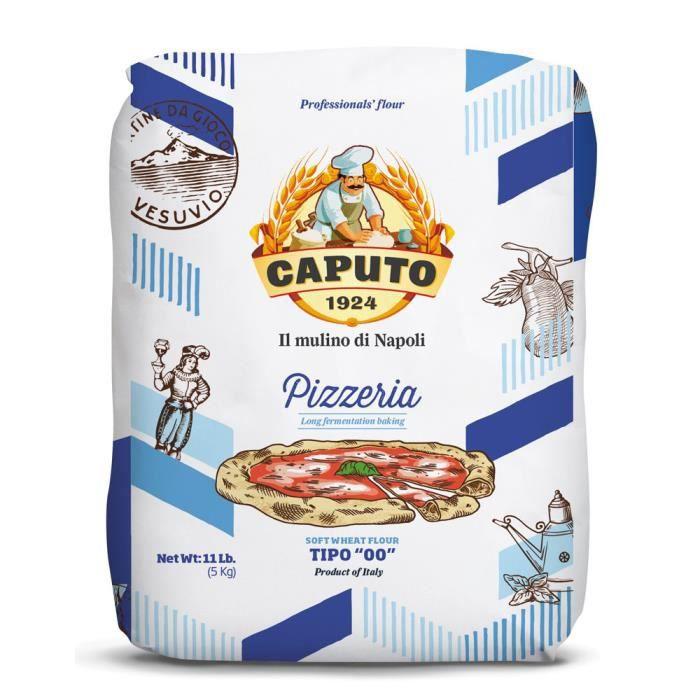 Caputo - Farine de Blé Tendre 'Tipo 00' Pizzeria 5Kg
