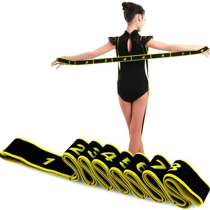 Elastique Sport bandes musculation fitness adultes/enfants résistance élastique yoga danse elastiband corde ruban extenseur sangle
