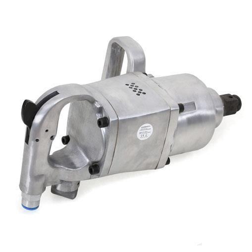EBERTH 1- Clé à chocs pneumatique pour Usage intensif (1620 Nm, 1/2- Air Connexion, 3 Rotation, Mécanisme double)