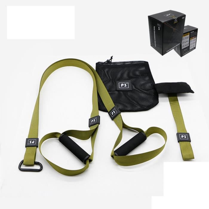 Elastique de Résistance Musculation Fitness Pro 1 Vert
