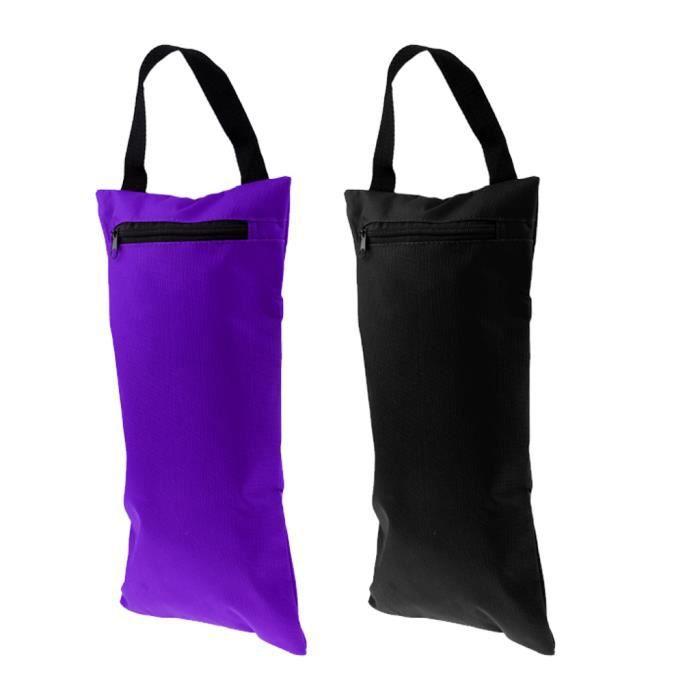 2pcs Sac de Sable avec Sac Intérieur Pour Yoga Pilates Fitness l'entraînement de Résistance