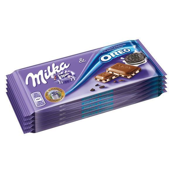 Milka & Oreo Chocolat 5 x 100g