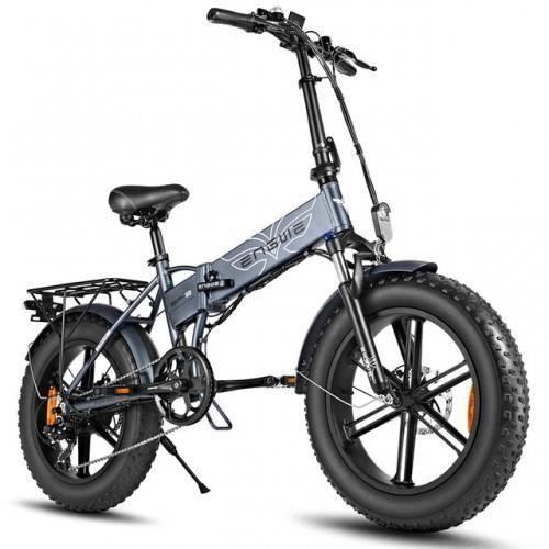 Velo Assistance Electrique GYL040 Vélo électrique 20 pouces 48V 500W pliant cyclomoteur Vélo électrique Gris