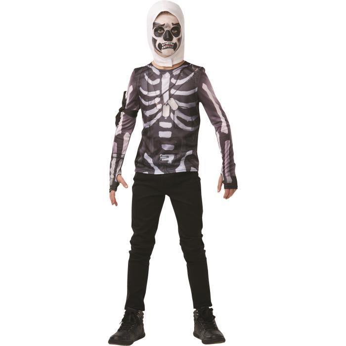 FORTNITE Top + cagoule Ado Skull Trooper